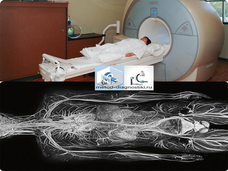тело на томографе и после сканирования