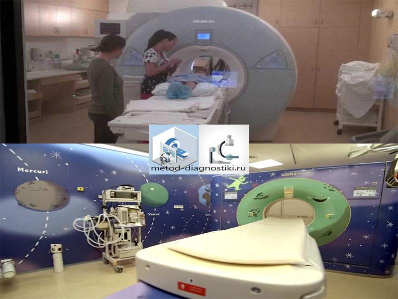 томография в детской областной больнице